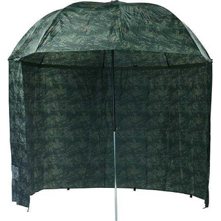 M-AUSC250C Umbrella Camou PVC + side cover 2.50m