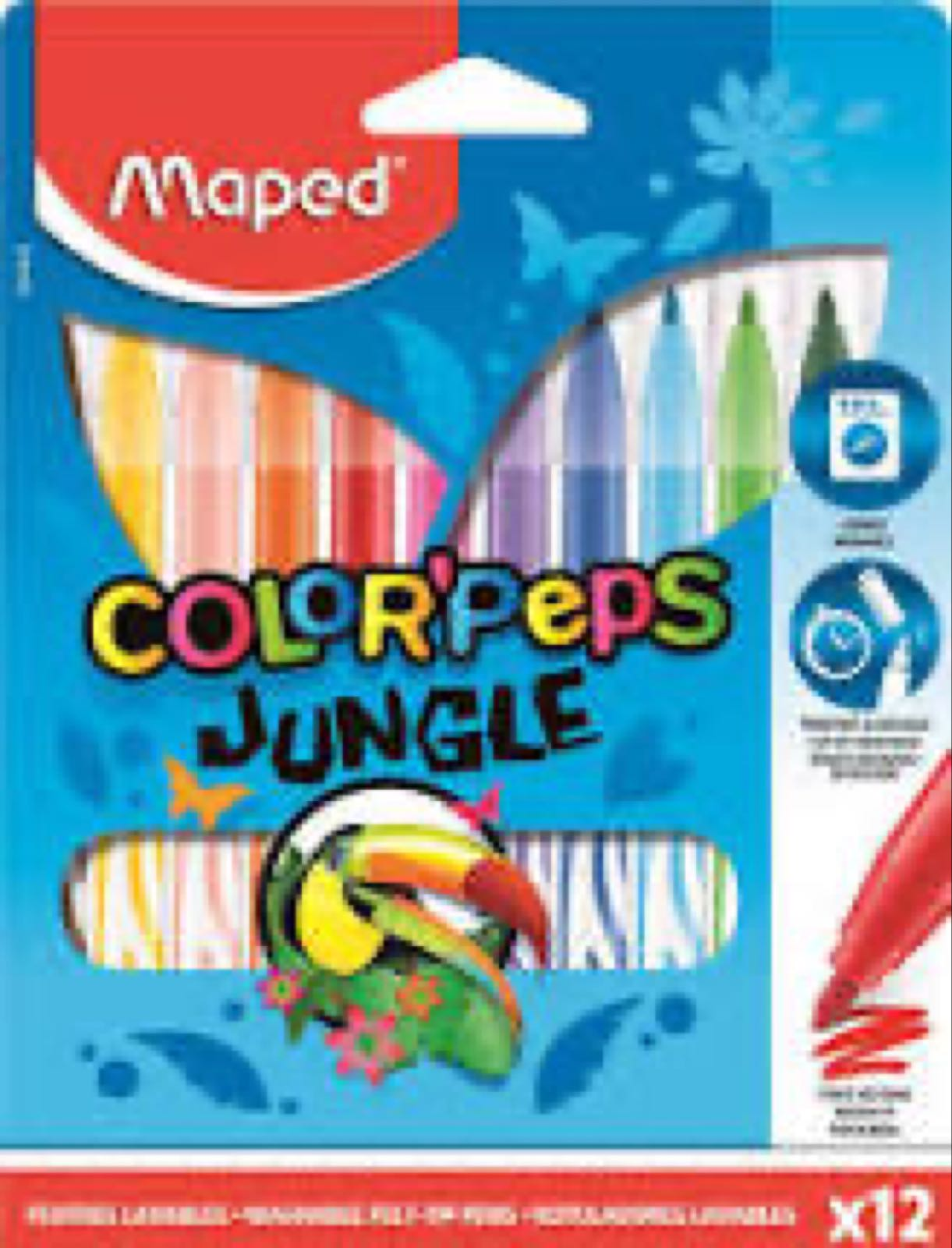 Jungle Felt Tip Pens - COLORPEPS