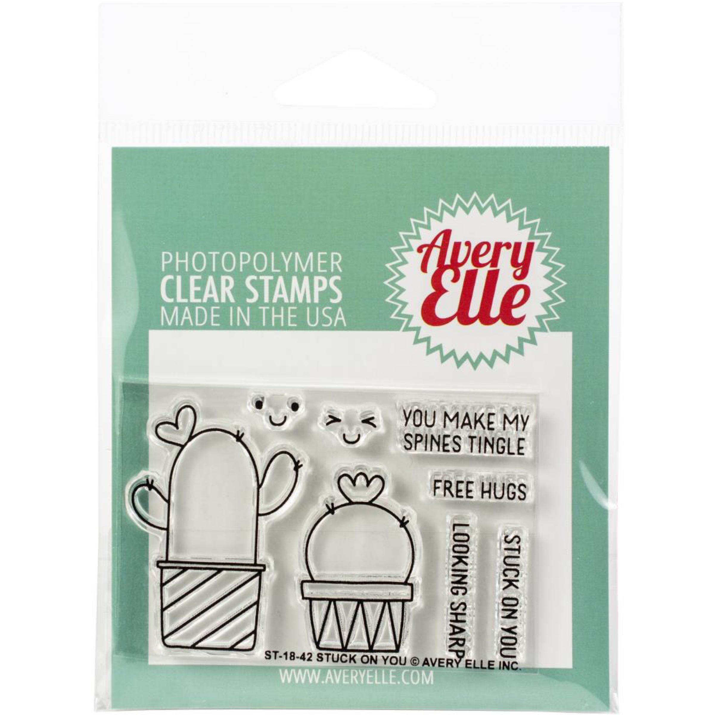 Avery Elle Clear Stamps - Stuck on You