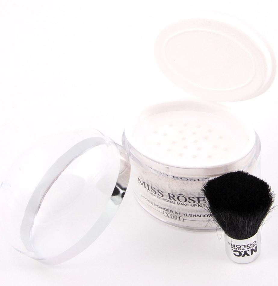 Miss Rose Silver 2-1  Mineral MakeUp