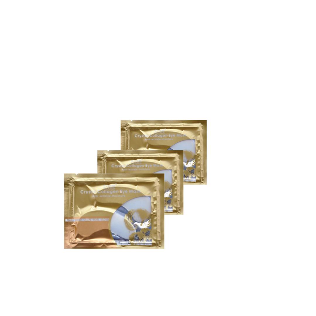 3 stk Collagen Øjenmasker