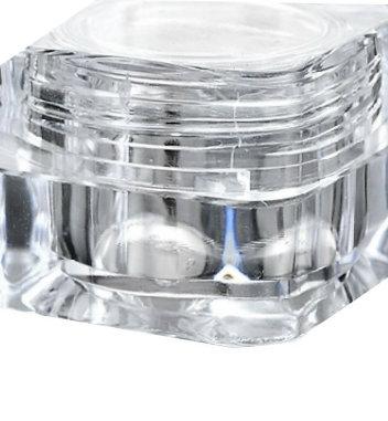 Beholder 10 ml Krystal Clear skruelåg