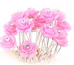 Hairpins Rose 2pk