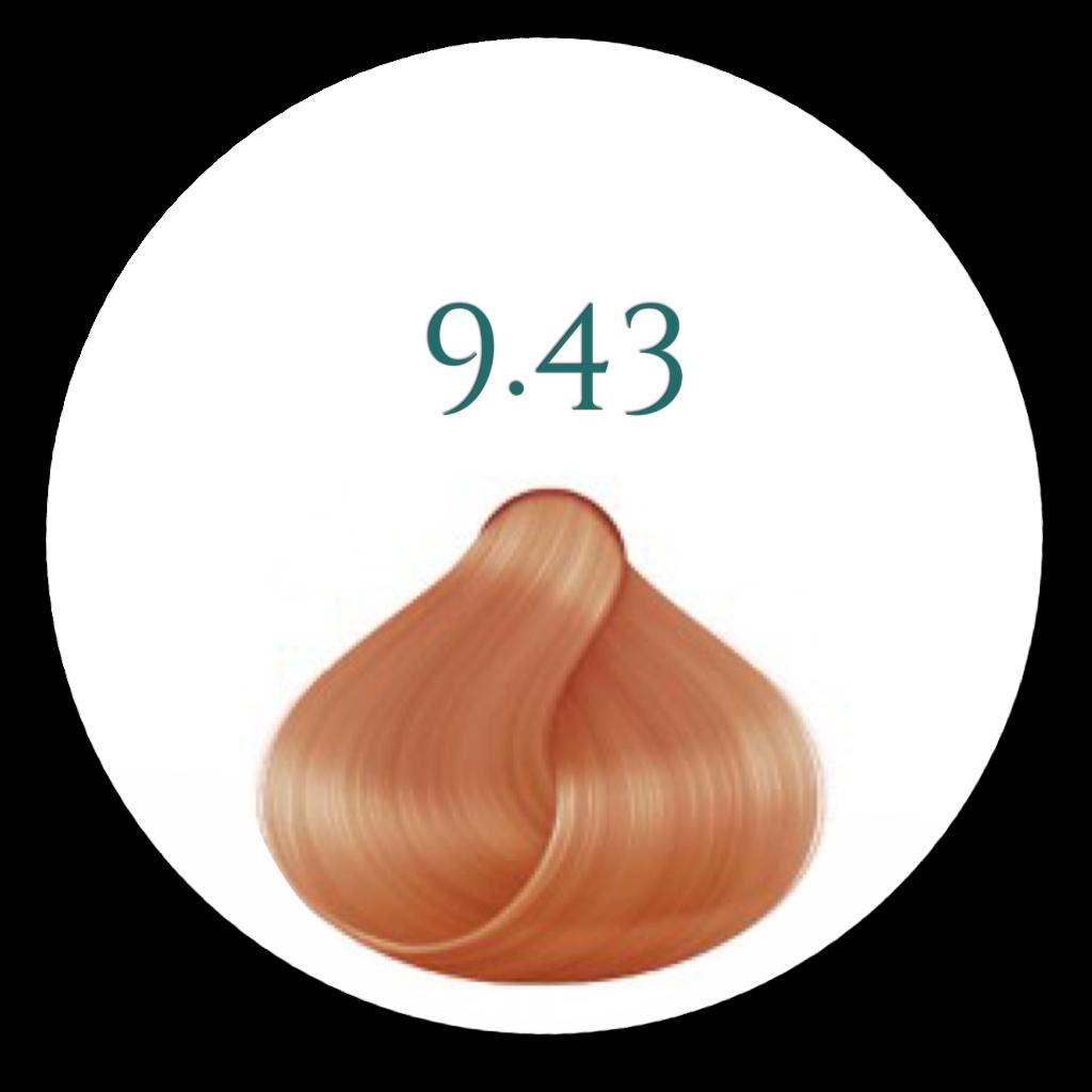 9,43 Meget Lys Gylden kobber 100ml