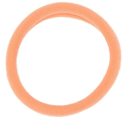 Hårelastikker Peach Large 2pk
