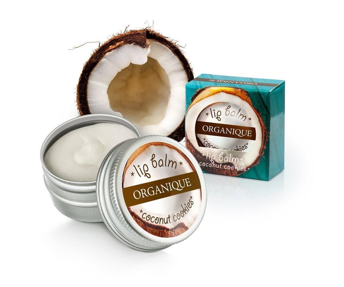 Læbepomade kokos 100% naurlige ingredienser
