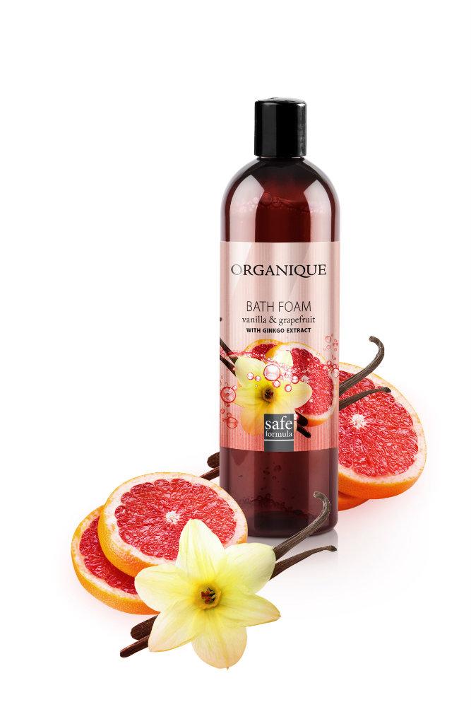 Showergel  Vanilje Grapefrugt ginkgo extract