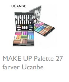 Øjenskygge Palette27 Farver