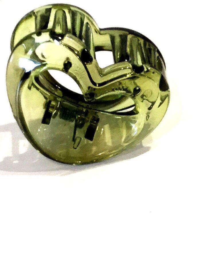 Hjerte håklemme grøn