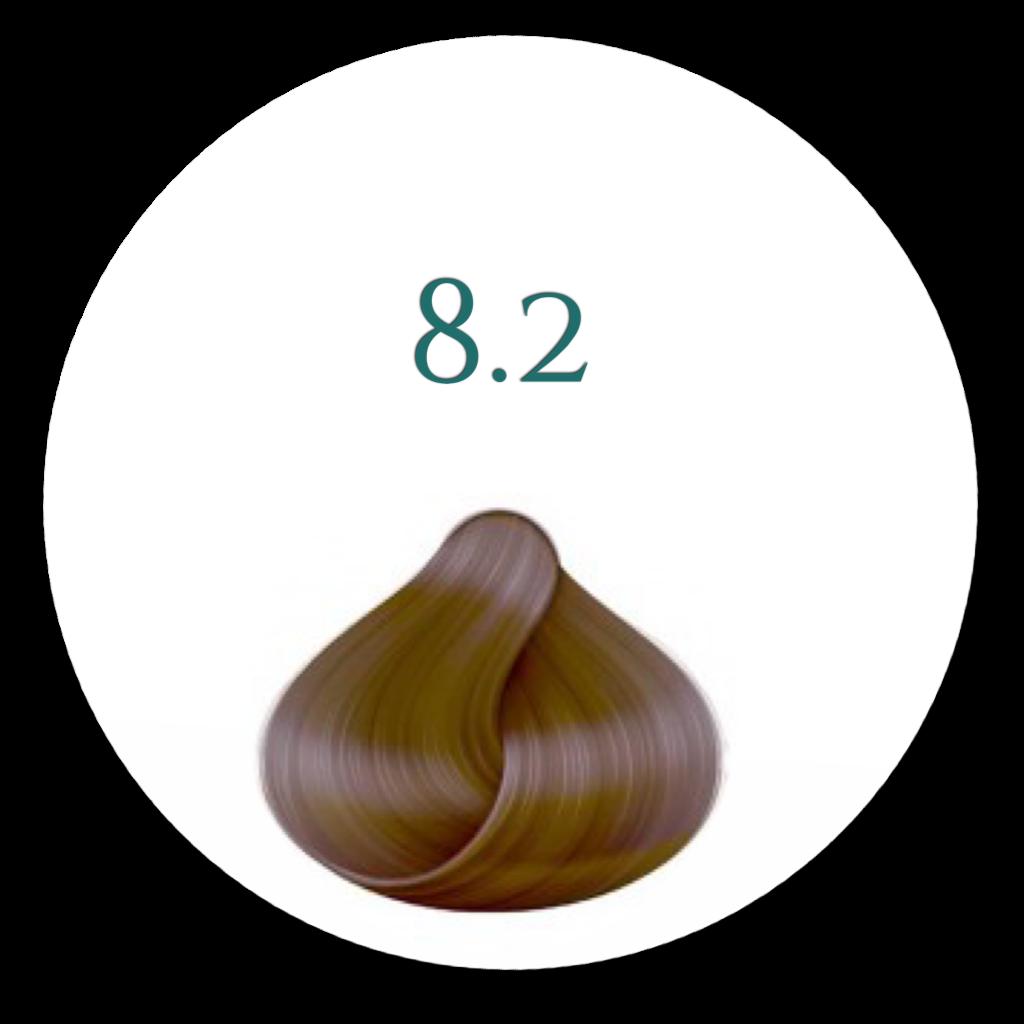 8,2 Nordisk blond Hårfarve