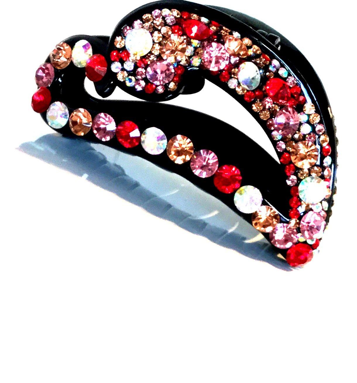 Fashion Jewelry Hårspænde  med Palietter og krystaller