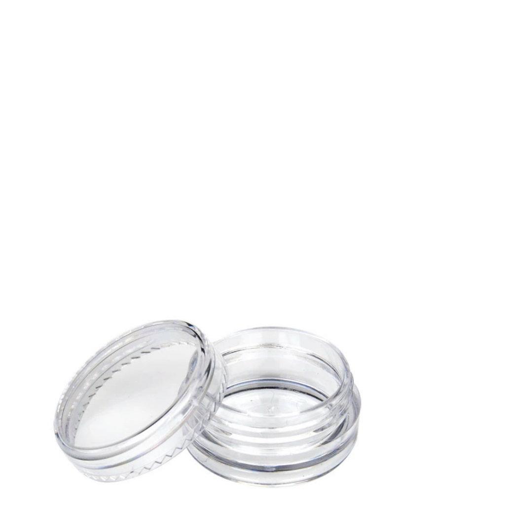 Beholder 10 ml Krystal Clear rund