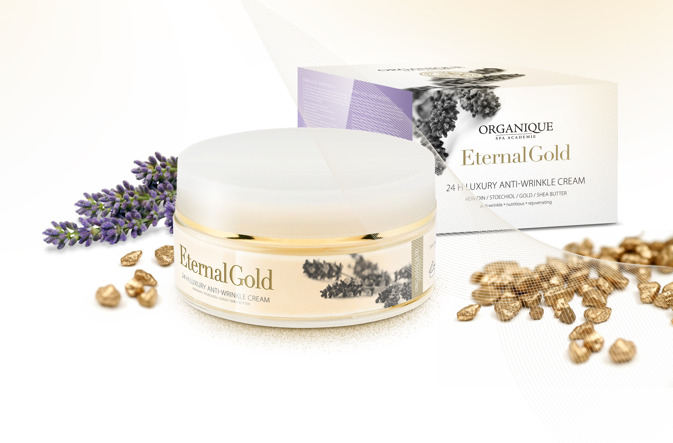 Eternal Gold Face Creme 24 H Hydrating 180ml