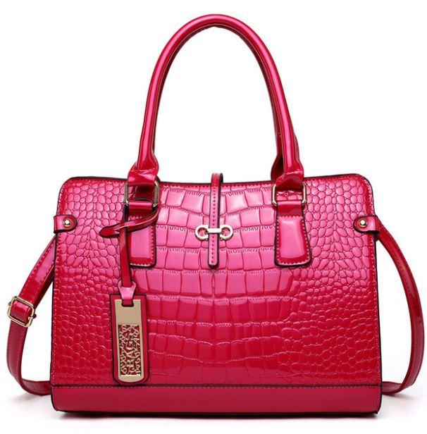 Dame Skulder Taske Hot Pink Spar 50%