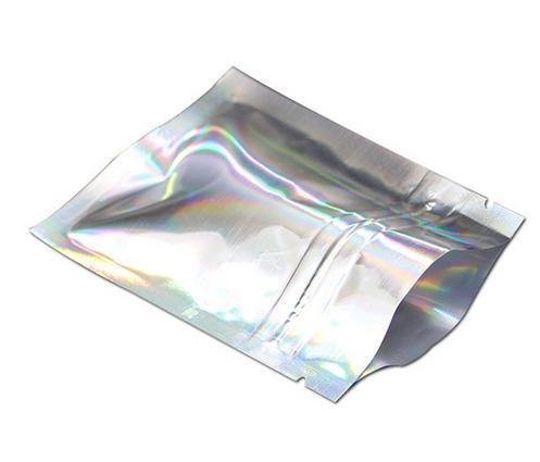 Zip Pose Metalic Sølv 10Pk