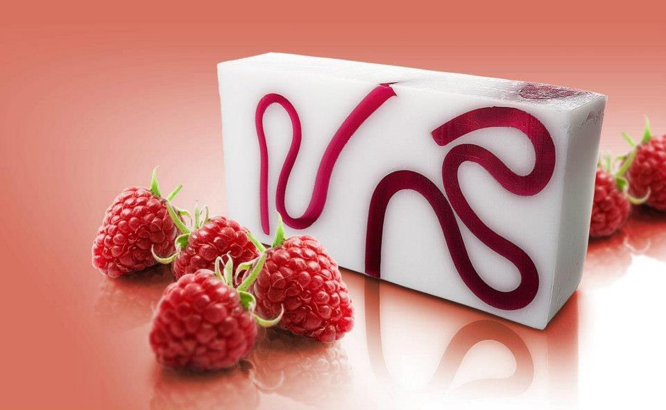 Hindbærsæbe 100g