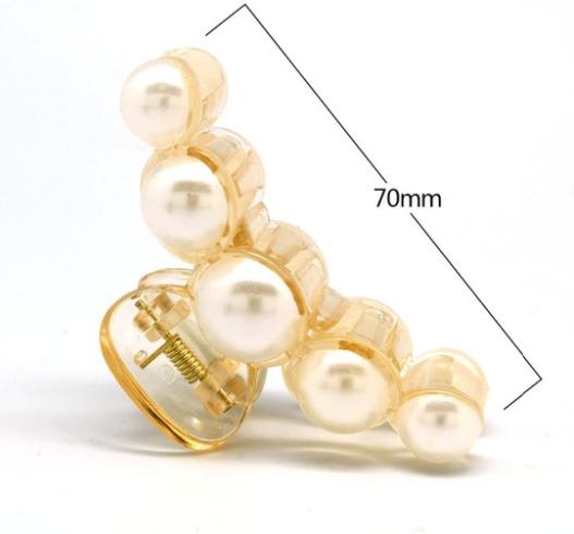 Hårspænde Elagant med perler