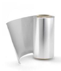 Frisør folie sølv