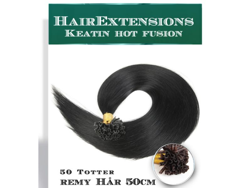 Hairekstensions Hot Fusion Mørk Brun