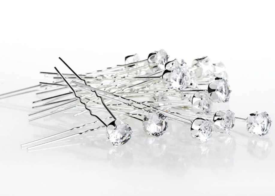 Hairpins 2 pk Diamond