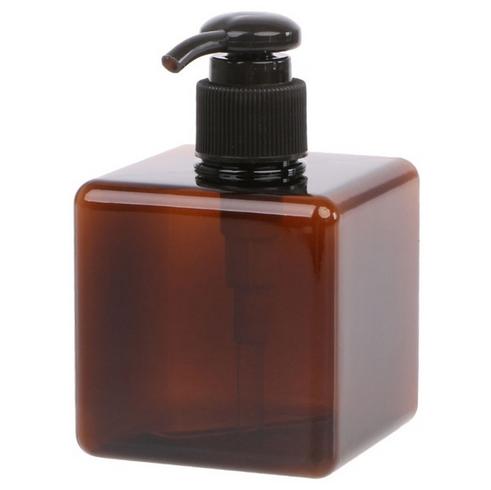 Genopfyldelig firkantet Flaske Brun 250ml