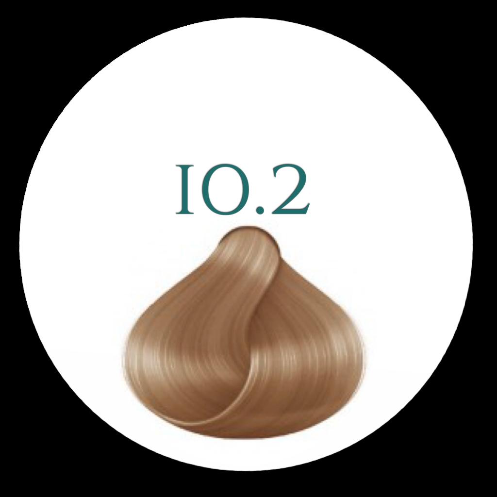 10.2 Ultra lys Nordisk Blond Hårfarve