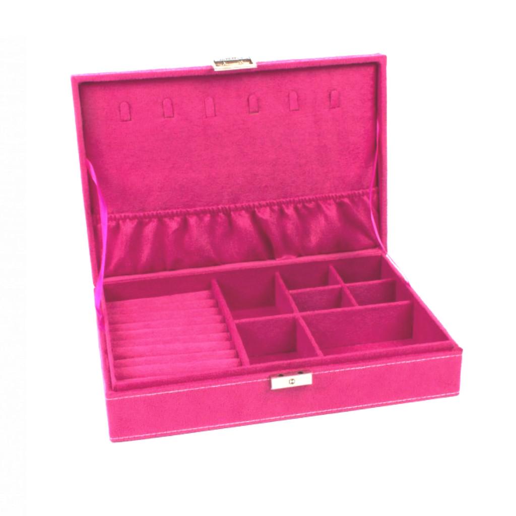Smykkeskrin Pink Velour