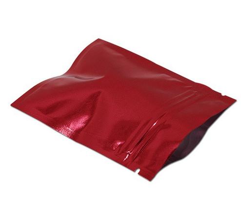 Zip Pose Metalic Rød 10pk
