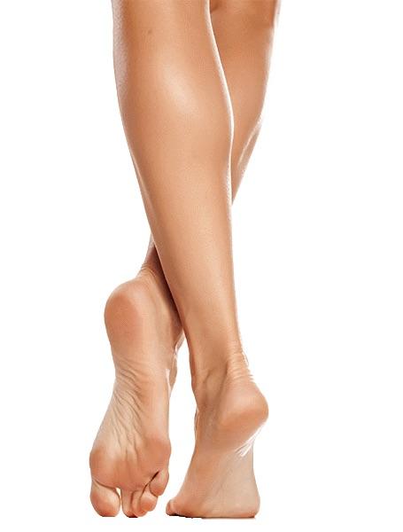 Voksbehandling underben fra knæ