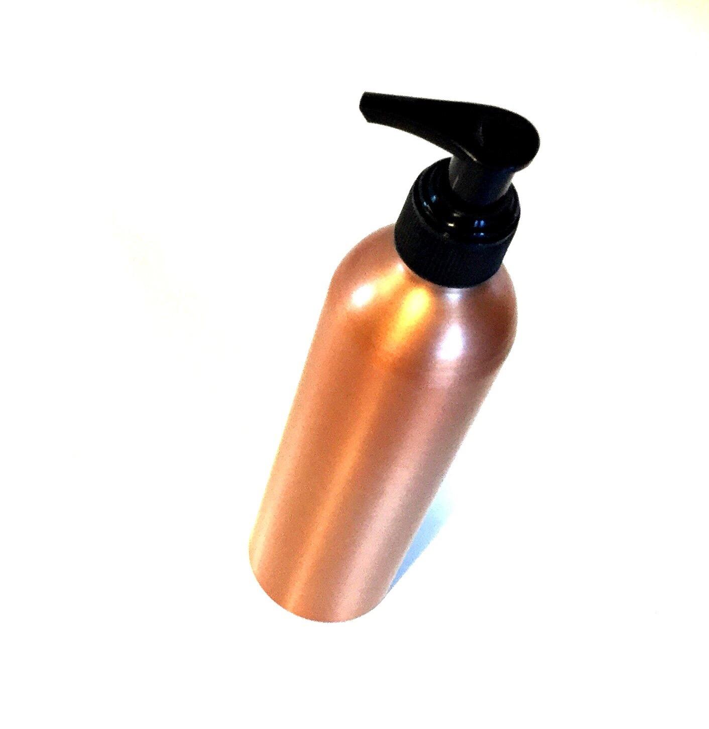 Genopfyldelig flaske Bronche farvet 250ml med pumpe