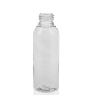 Genopyldelig Pet Flaske Med tyrkis Pumpe Klar 100 ml