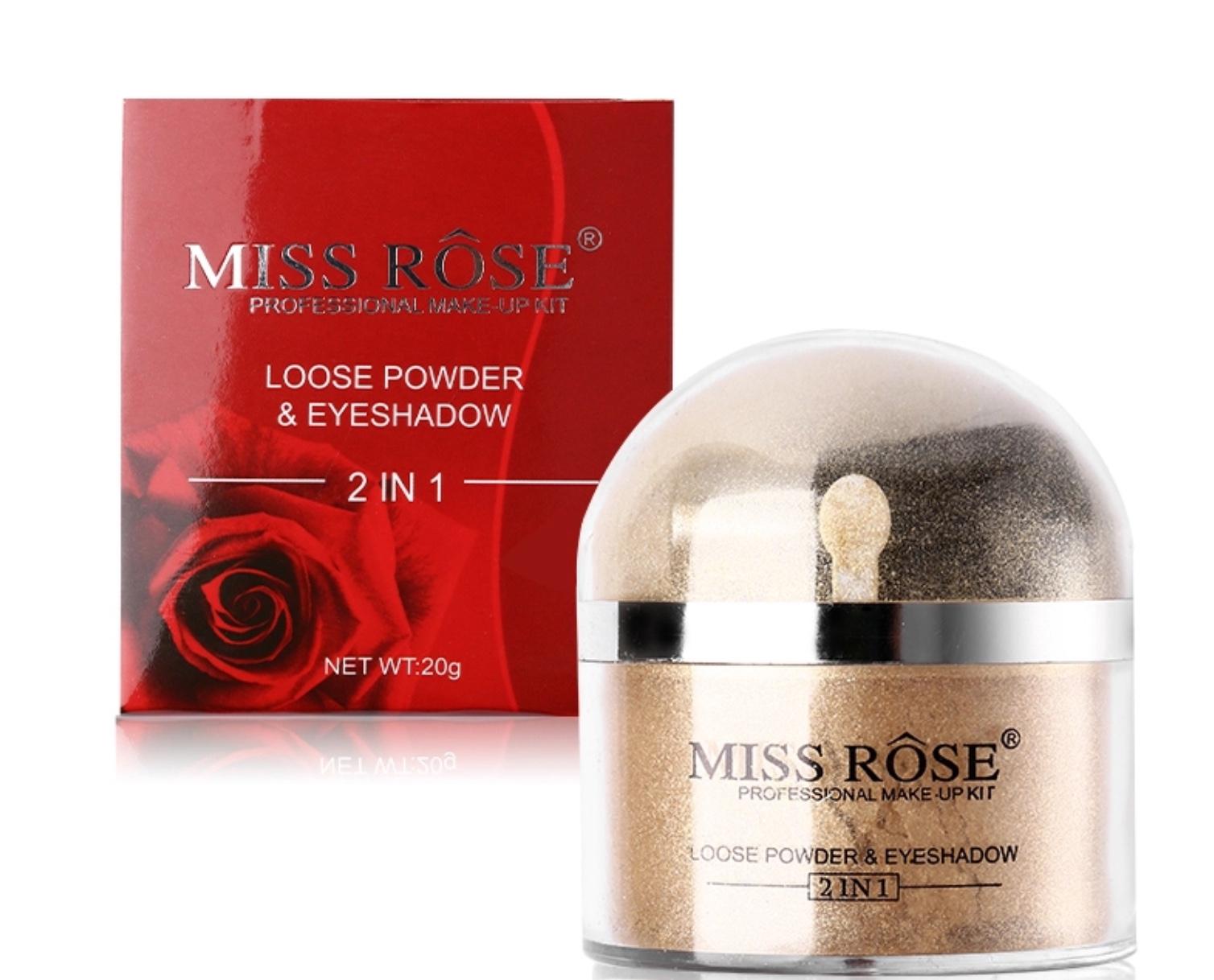 Miss Rose Mineral Makeup guld