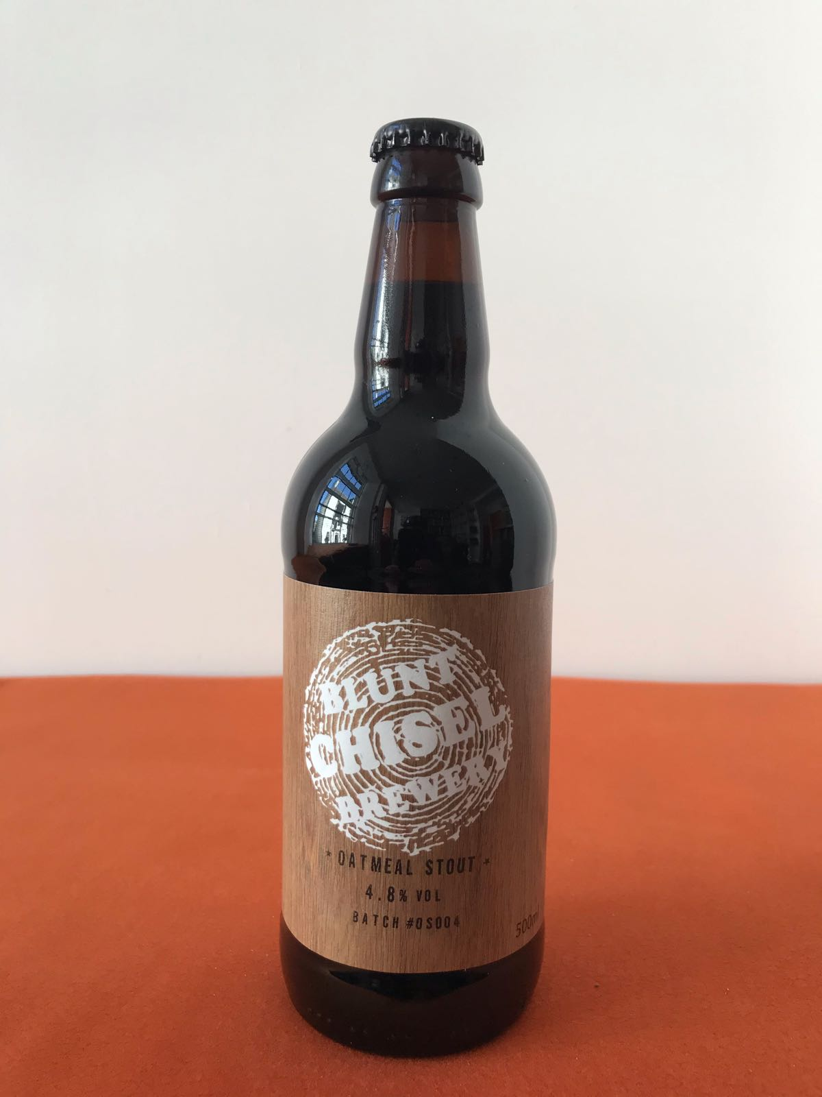 Blunt Chisel Brewery: Oatmeal Stout