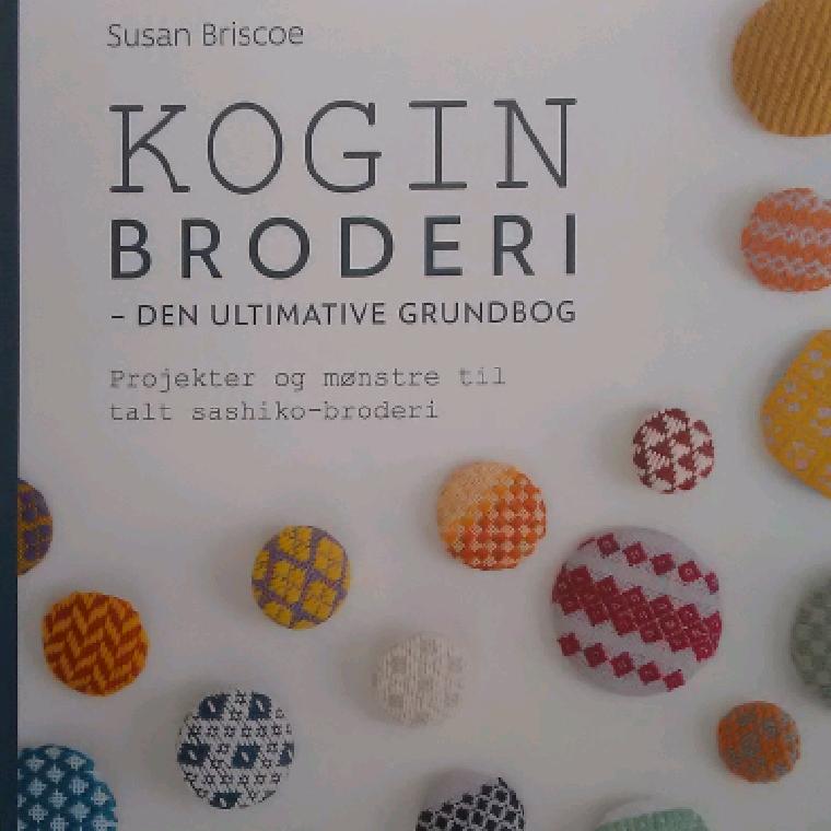KOGIN Broderi - den ultimative grundbog af Susan Briscoe - 9788740662917
