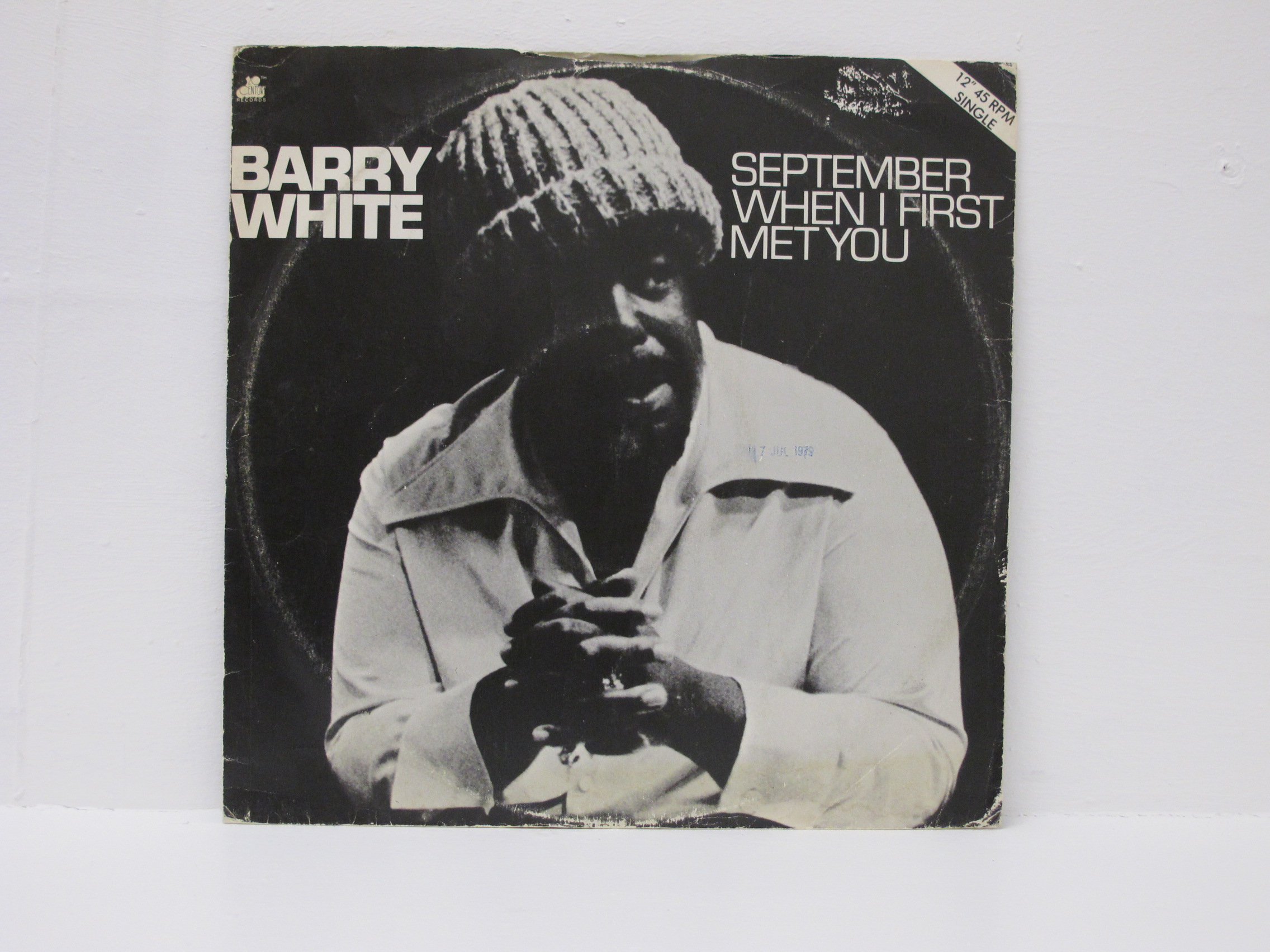 Barry White - September When I First Met You