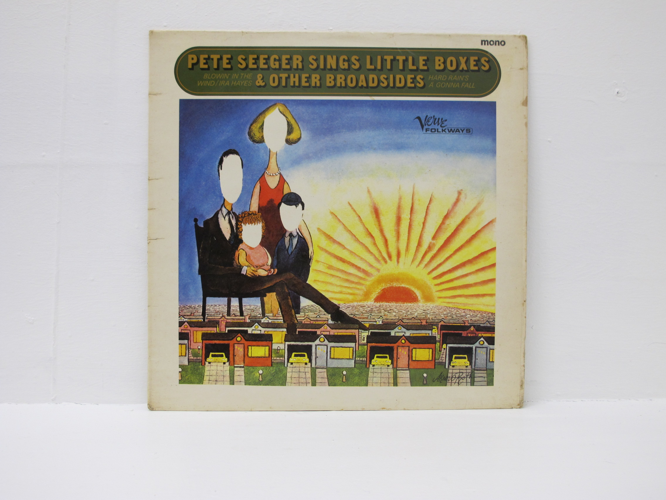 Pete Seeger Sings Little Boxes & Other Broadsides