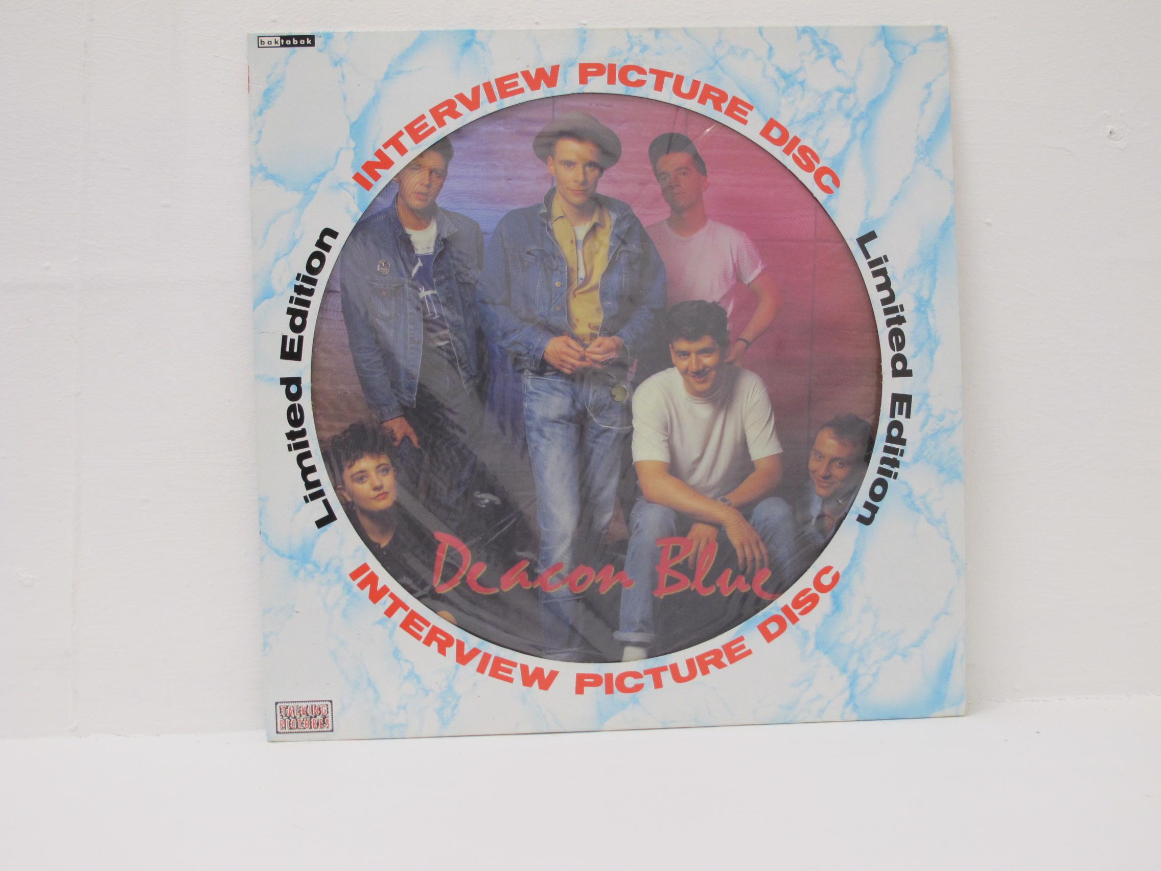 Deacon Blue - Interview Picture Disc
