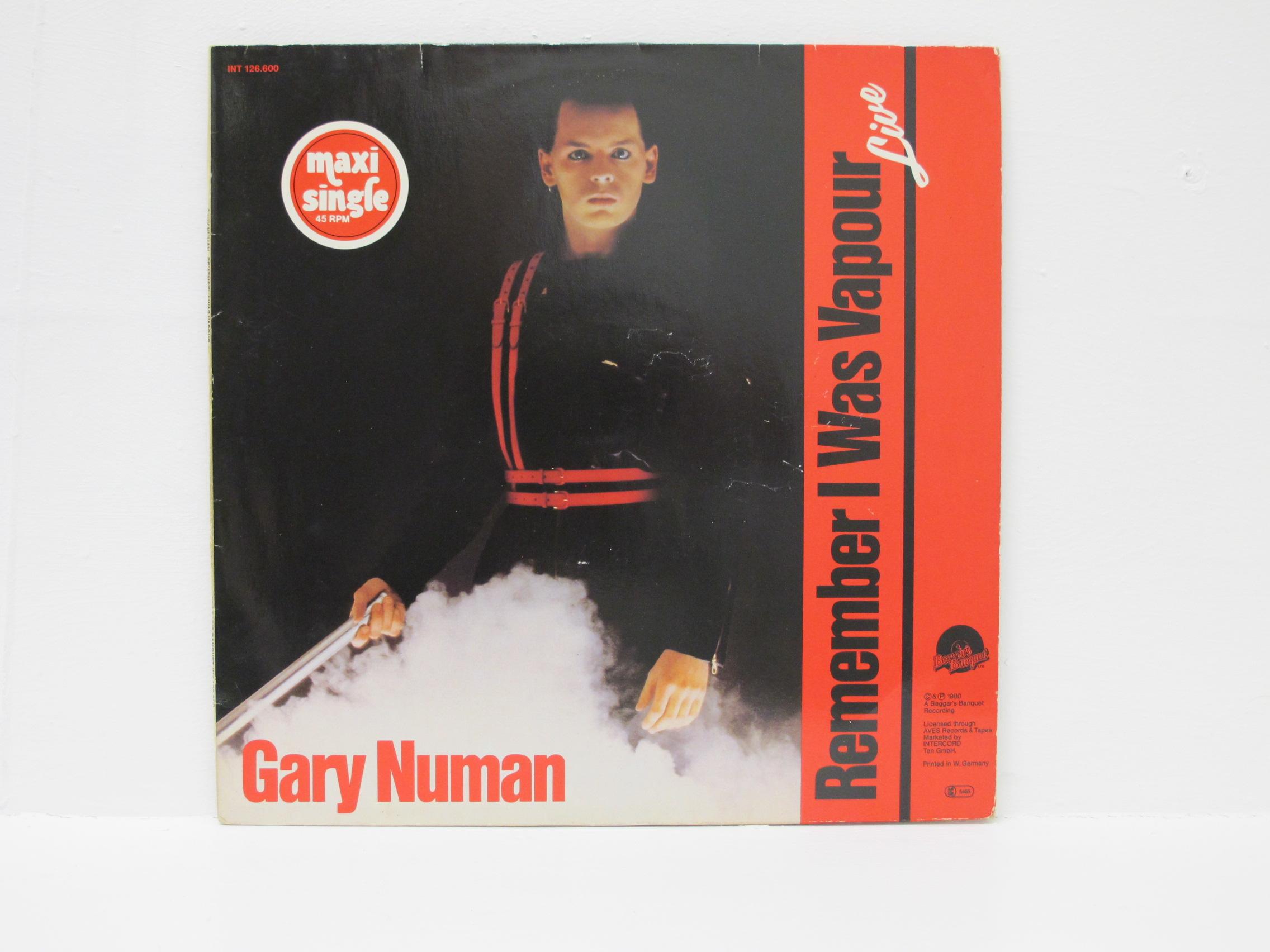 Gary Numan - Remember I Was Vapour (Live)