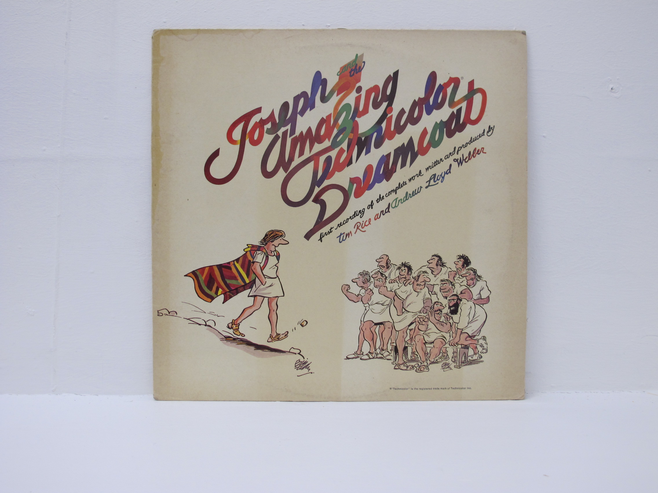 Andrew Lloyd Webber & Tim Rice - Joseph And The Amazing Technicolour Dreamcoat