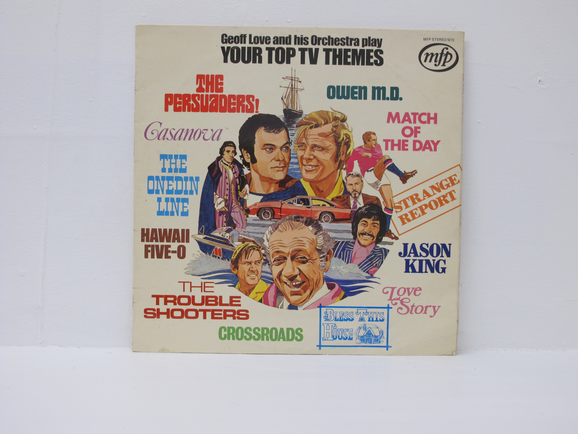 Geoff Love And His Orchestra - Your Top TV Themes
