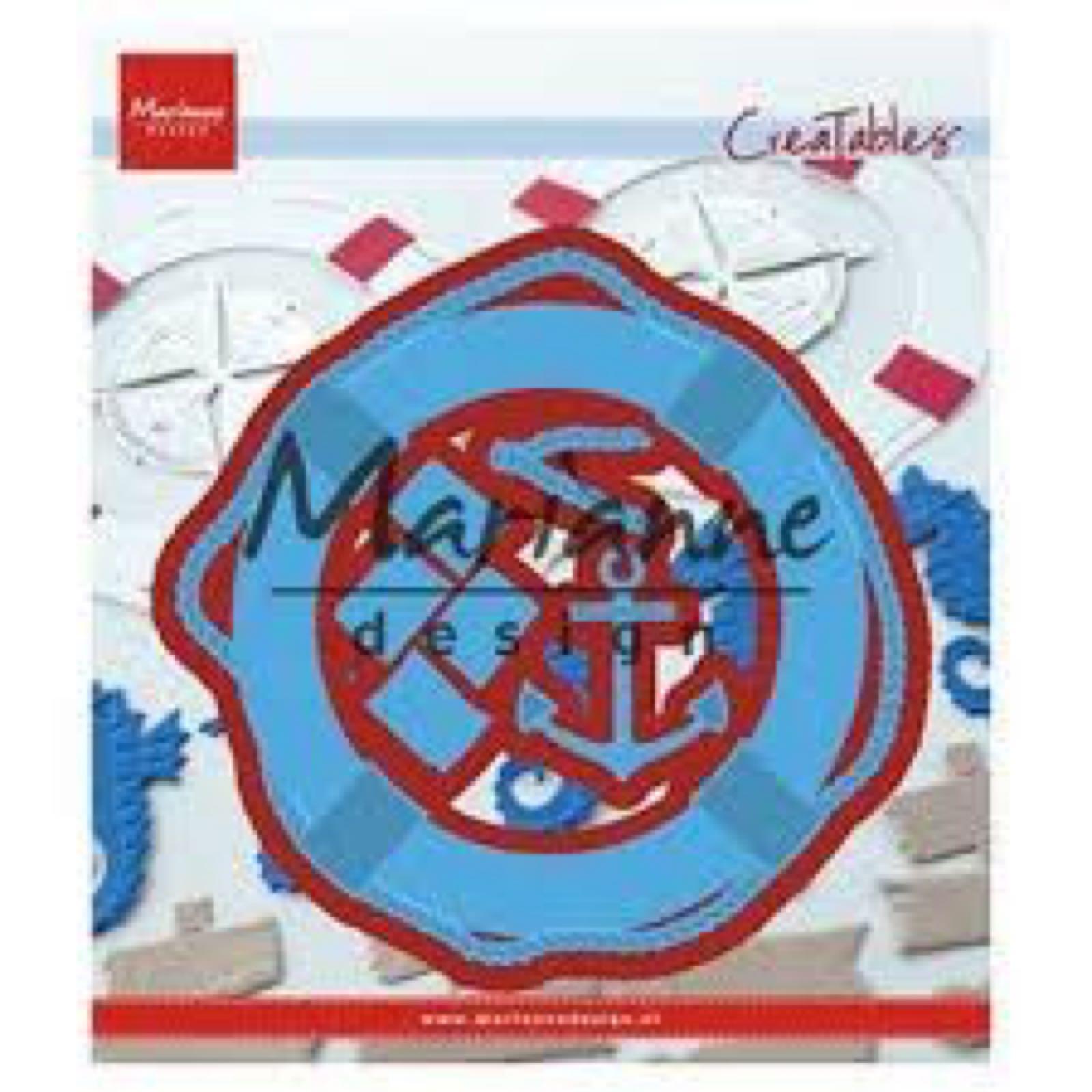 Marianne Design Creatables die: redningsbøye