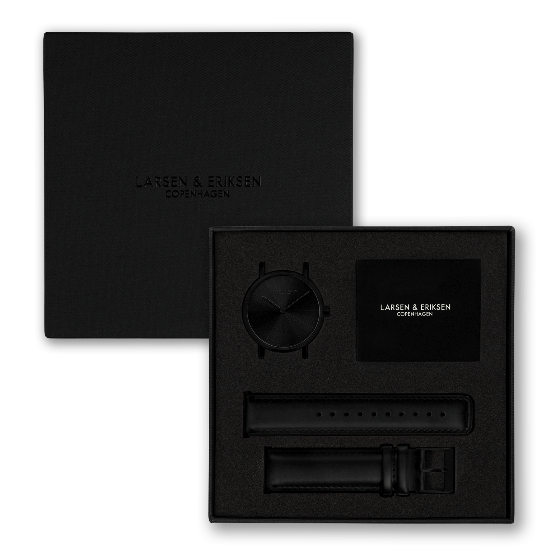 Absalon Black/Black Matte klokke