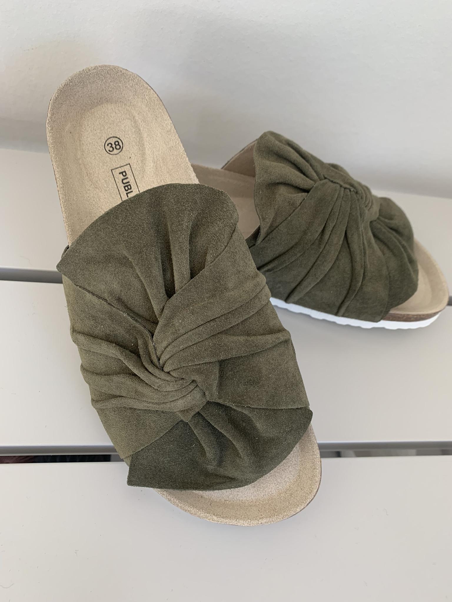 Aimee sandal army green
