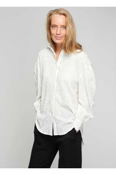 Noella Tate Shirt Cotton Broderi