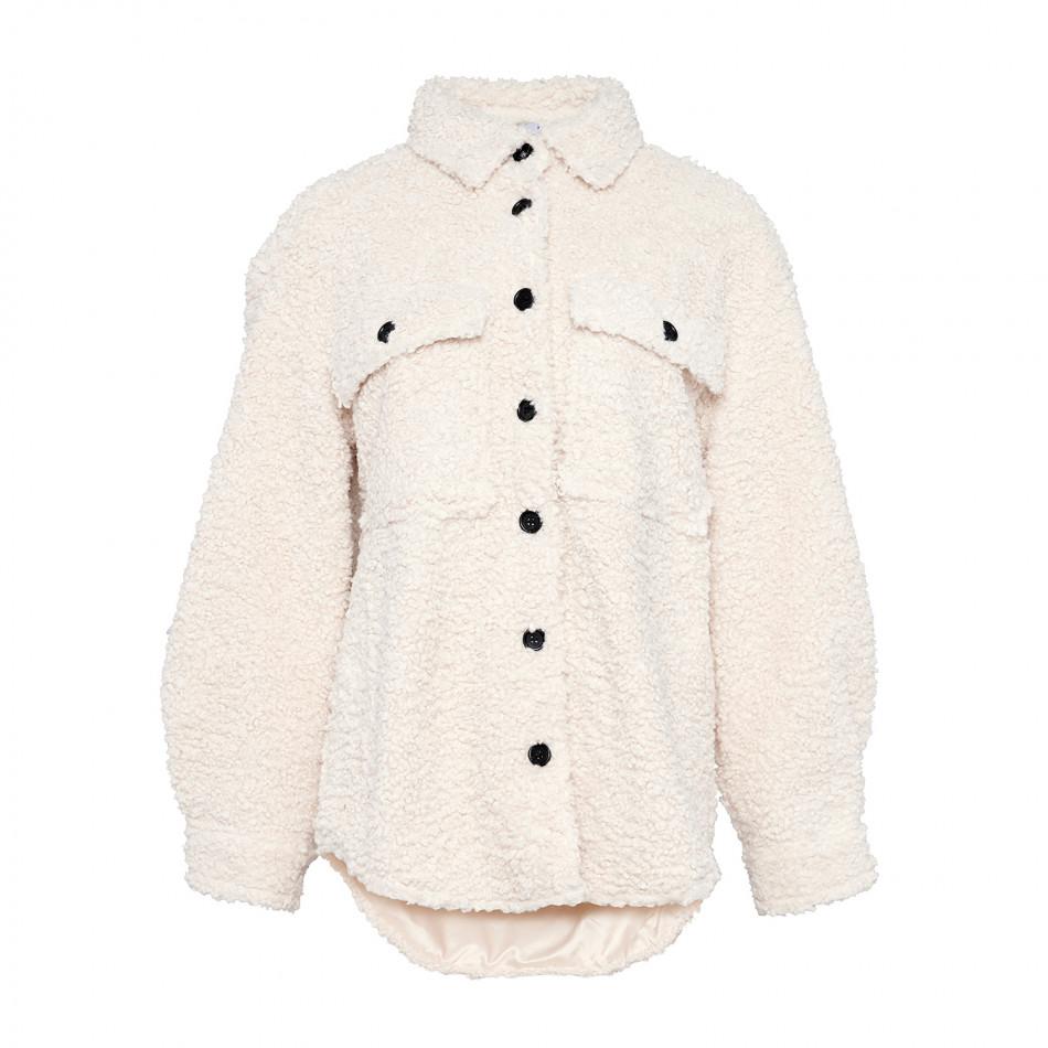 Noella Sigga Jacket Teddy Cream