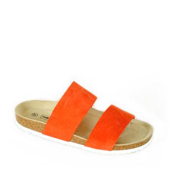 Aure orange sandal