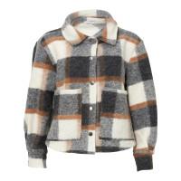 Noella Viksa jacket short Grey/camel checks
