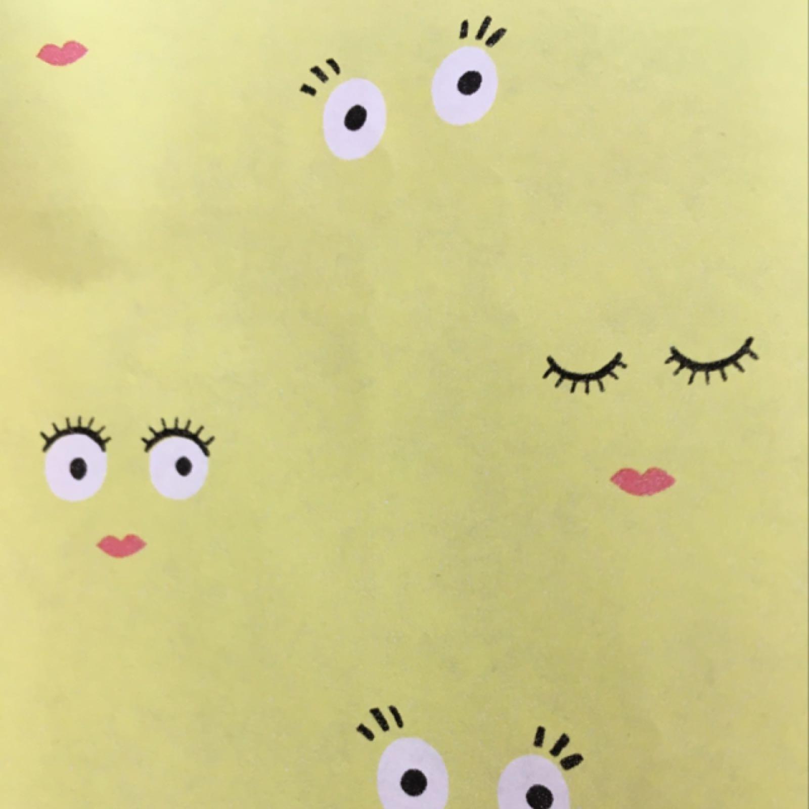 Kuno Wrap (smiley faces)