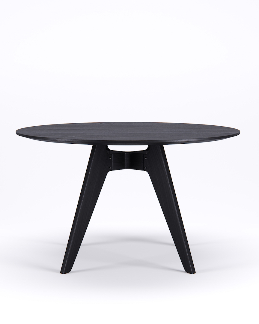Lavitta Table 120cm – Stained Black (–50%)