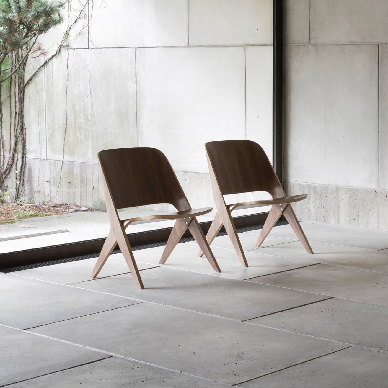 Lavitta Lounge Chair – Walnut (–40%)